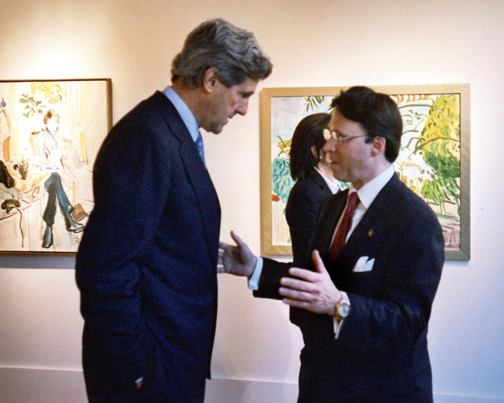 Derek Bryson Park and John Kerry