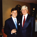 Derek Bryson Park and US Senator from Connecticut, Chris Dodd.