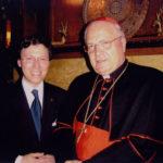 Derek Bryson Park and Angelo Cardinal Sadano