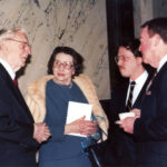 Former Governor Mr. and Mrs. Ross Barnett, Derek Bryson Park, and John S. Callon