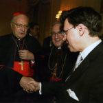 Angelo Cardinal Sodano, Archbishop Celestino Migliore, and Derek Bryson Park