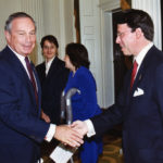 Michael Bloomberg and Derek Bryson Park