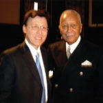 Derek Bryson Park and NYC Mayor David Dinkins