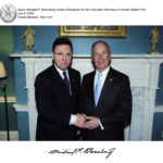 Derek Bryson Park and Michael R. Bloomberg
