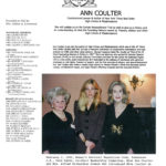 Mrs. Vera Park, Miss Ann Coulter, and Mrs. Alfred Richardson Simon