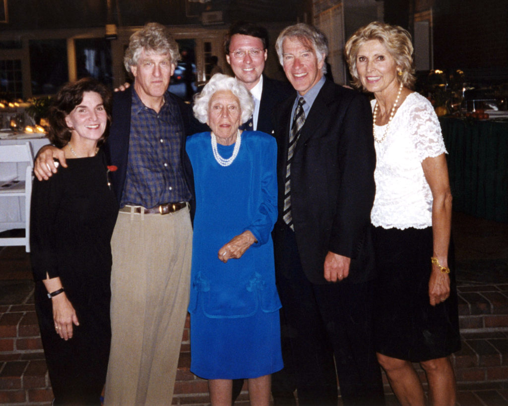 Debra Lynch Altman, Kip Altman, Mrs. Altman, Derek Bryson Park, Roger Altman, and wife Jurate Kazickas Altman