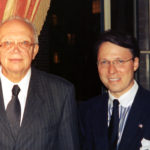 Derek Bryson Park and Sergei Khrushchev, Ph.D. who serves as an advisor to the Cold War Museum and was a Senior Fellow at the Watson Institute for International and Public Affairs at Brown University and son of the former Soviet Russian Premier Nikita Khrushchev
