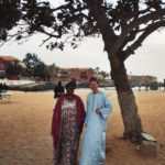 Derek Bryson Park and old friend; Gorée Island, Dakar, Senegal, Africa
