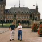 [Left to Right] Senior Director, Fannie Mae and former First Vice President and CFO, M&T Bank, Thomas P. Kowick; and Derek Bryson Park at The Hague, The Netherlands