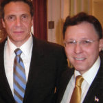 Governor of New York, Andrew Cuomo and Derek Bryson Park