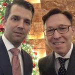 Donald J. Trump, Jr. and Derek Bryson Park at the 2017 Trump Christmas Party, Trump Tower, NYC